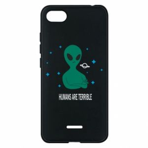 Phone case for Xiaomi Redmi 6A Humans are terrible