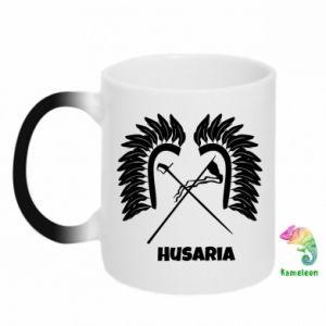 Kubek-kameleon Husaria