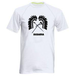 Męska koszulka sportowa Husaria