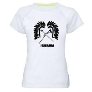 Damska koszulka sportowa Husaria