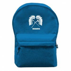 Plecak z przednią kieszenią Husaria
