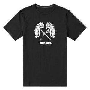 Męska premium koszulka Husaria