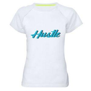 Damska koszulka sportowa Hustle