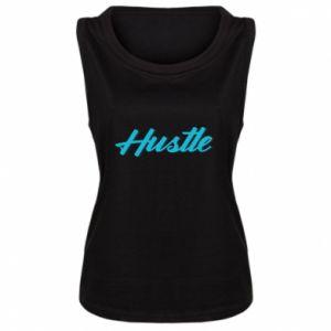 Damska koszulka bez rękawów Hustle