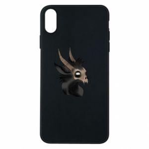 Etui na iPhone Xs Max Hyena in the skull