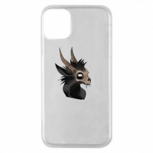 Etui na iPhone 11 Pro Hyena in the skull