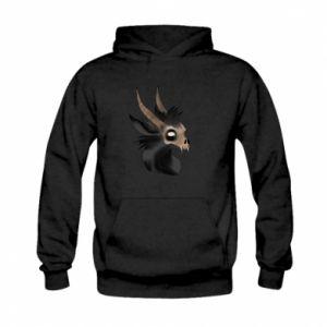 Bluza z kapturem dziecięca Hyena in the skull