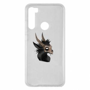 Etui na Xiaomi Redmi Note 8 Hyena in the skull