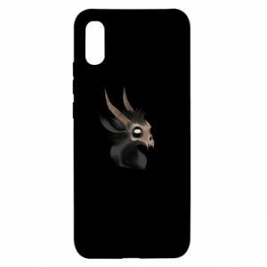 Etui na Xiaomi Redmi 9a Hyena in the skull