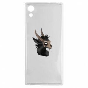 Etui na Sony Xperia XA1 Hyena in the skull