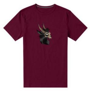 Męska premium koszulka Hyena in the skull