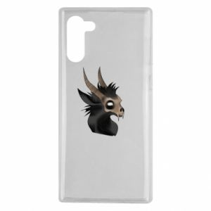 Etui na Samsung Note 10 Hyena in the skull