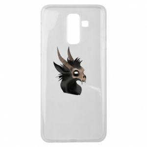 Etui na Samsung J8 2018 Hyena in the skull