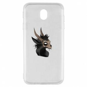 Etui na Samsung J7 2017 Hyena in the skull