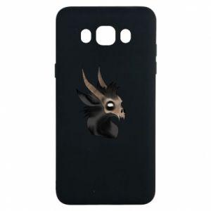 Etui na Samsung J7 2016 Hyena in the skull