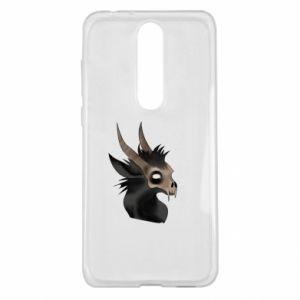 Etui na Nokia 5.1 Plus Hyena in the skull