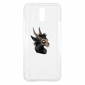 Etui na Nokia 2.3 Hyena in the skull