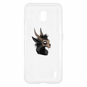 Etui na Nokia 2.2 Hyena in the skull