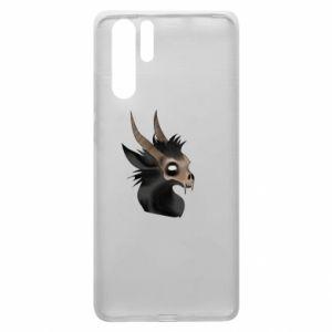 Etui na Huawei P30 Pro Hyena in the skull