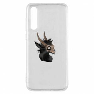 Etui na Huawei P20 Pro Hyena in the skull