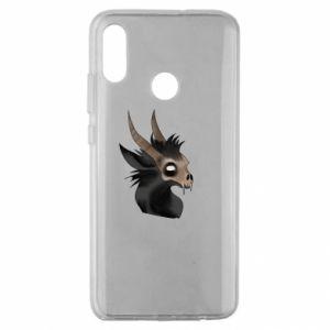 Etui na Huawei Honor 10 Lite Hyena in the skull