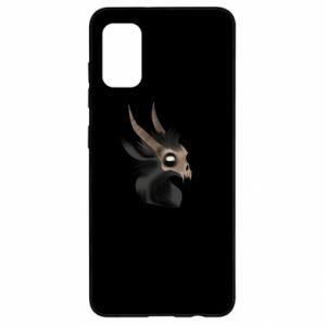 Etui na Samsung A41 Hyena in the skull