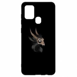 Etui na Samsung A21s Hyena in the skull