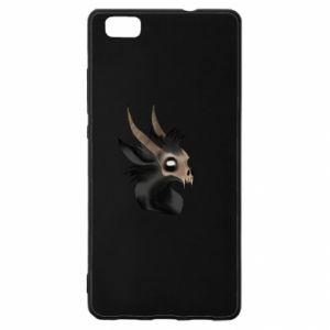 Etui na Huawei P 8 Lite Hyena in the skull