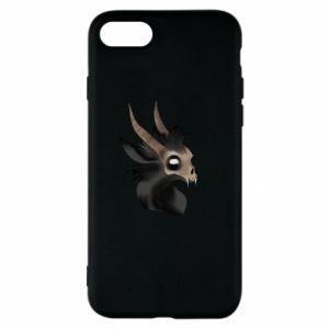 Etui na iPhone SE 2020 Hyena in the skull