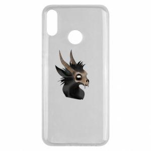 Etui na Huawei Y9 2019 Hyena in the skull