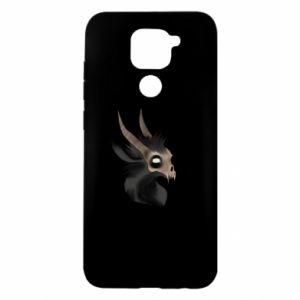 Etui na Xiaomi Redmi Note 9/Redmi 10X Hyena in the skull