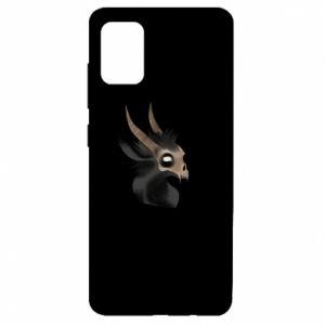 Etui na Samsung A51 Hyena in the skull