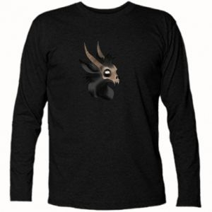 Koszulka z długim rękawem Hyena in the skull