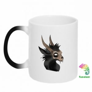 Kubek-magiczny Hyena in the skull