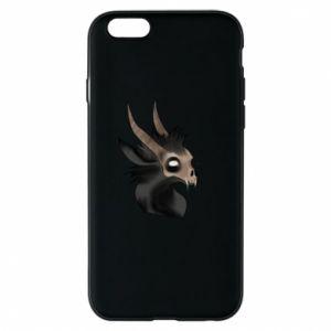 Etui na iPhone 6/6S Hyena in the skull