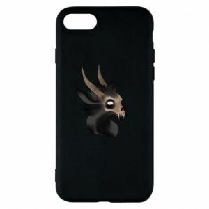 Etui na iPhone 8 Hyena in the skull