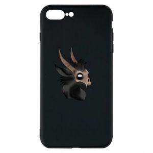 Etui na iPhone 8 Plus Hyena in the skull