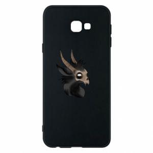 Etui na Samsung J4 Plus 2018 Hyena in the skull