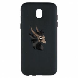 Etui na Samsung J5 2017 Hyena in the skull