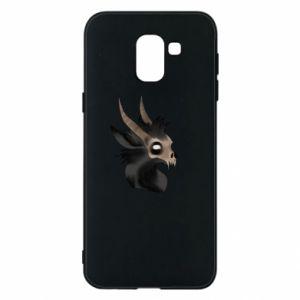 Etui na Samsung J6 Hyena in the skull