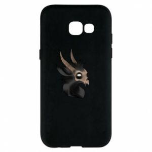 Etui na Samsung A5 2017 Hyena in the skull
