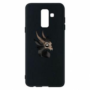 Etui na Samsung A6+ 2018 Hyena in the skull