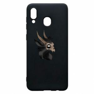 Etui na Samsung A30 Hyena in the skull