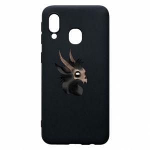 Etui na Samsung A40 Hyena in the skull