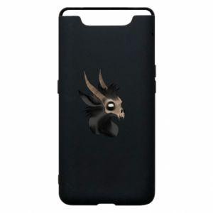 Etui na Samsung A80 Hyena in the skull