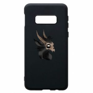 Etui na Samsung S10e Hyena in the skull