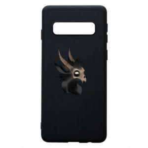 Phone case for Samsung S10 Hyena in the skull