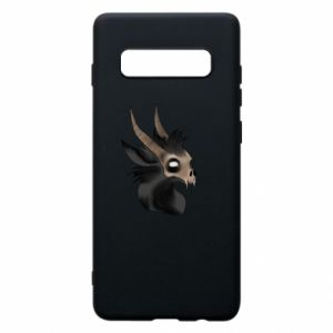 Etui na Samsung S10+ Hyena in the skull
