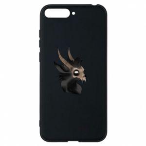 Etui na Huawei Y6 2018 Hyena in the skull