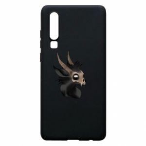 Etui na Huawei P30 Hyena in the skull